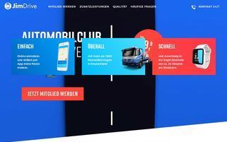 JimDrive Webseiten Screenshot
