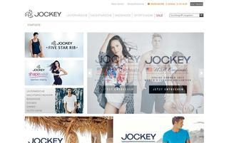 Jockey Webseiten Screenshot