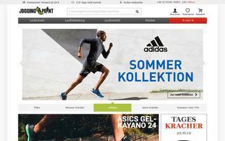 Jogging Point Webseiten Screenshot