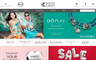 johngreedjewellery.com Webseiten Screenshot