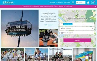Jollydays Webseiten Screenshot