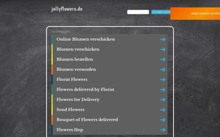 JollyFlowers Webseiten Screenshot