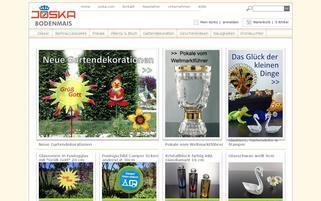 Joska Webseiten Screenshot