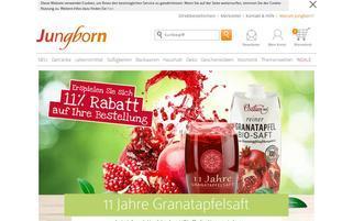 Jungborn Webseiten Screenshot