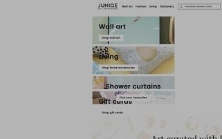JUNIQE Webseiten Screenshot