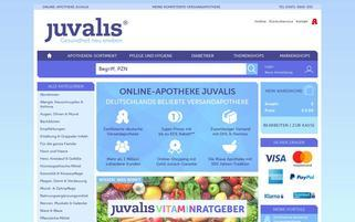 juvalis Webseiten Screenshot