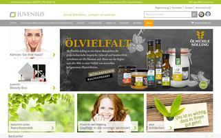 Juvenilis Webseiten Screenshot