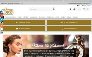 juwelier-dos.com Webseiten Screenshot