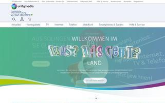 kabelbw.de Webseiten Screenshot