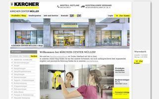 kaercher-profi.at Webseiten Screenshot