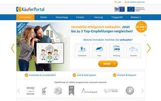 KäuferPortal Webseiten Screenshot