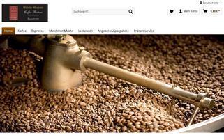 kaffee-magenfreundlich.de Webseiten Screenshot