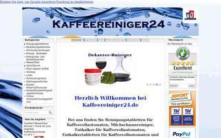 Kaffeereiniger24 Webseiten Screenshot