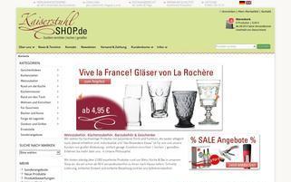 Kaiserstuhlshop Webseiten Screenshot
