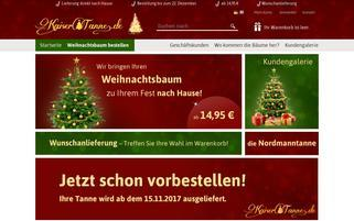 kaisertanne.de Webseiten Screenshot