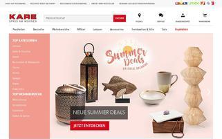 kare.de Webseiten Screenshot