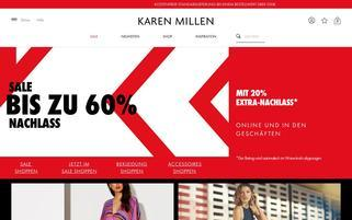 Karen Millen Webseiten Screenshot