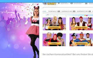 Karnevals-Gigant Webseiten Screenshot
