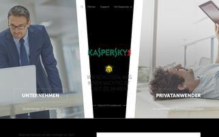 kaspersky.at Webseiten Screenshot