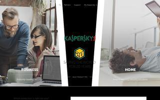 kaspersky.com Webseiten Screenshot