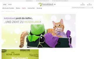 katzenland.de Webseiten Screenshot