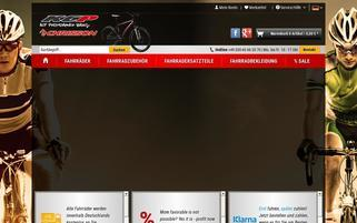 kcp-bikes.de Webseiten Screenshot
