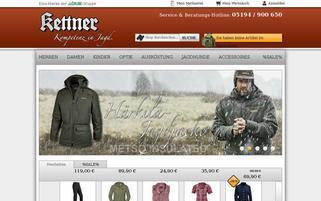 Kettner Webseiten Screenshot