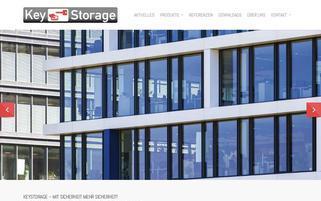 keystorage.de Webseiten Screenshot