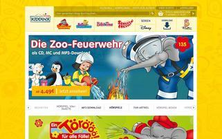 KIDDINX Webseiten Screenshot