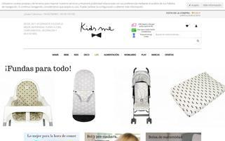 kidsme.es Webseiten Screenshot