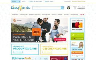 Kidsroom Webseiten Screenshot