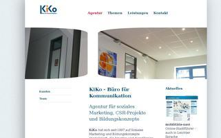 kiko.de Webseiten Screenshot