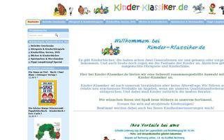 kinder-klassiker.de Webseiten Screenshot