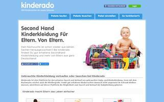 Kinderado Webseiten Screenshot