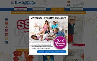 Kinderbutt Webseiten Screenshot