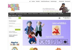 Kinderkiste Webseiten Screenshot