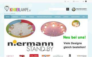 Kinderlampe Webseiten Screenshot