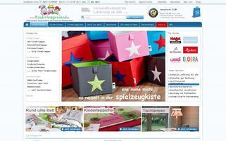 Kinderlampenland Webseiten Screenshot