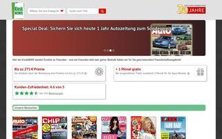 kiosk.news Webseiten Screenshot