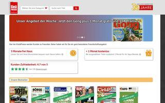kioskpresse.de Webseiten Screenshot