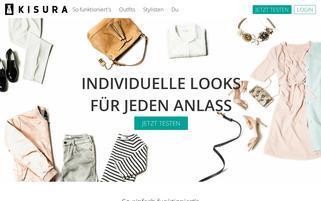 KISURA Webseiten Screenshot