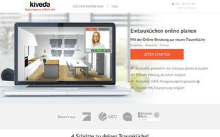 kiveda Webseiten Screenshot
