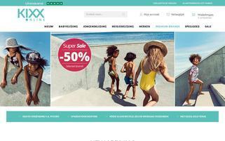 Kixx Online Webseiten Screenshot
