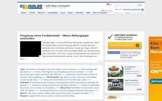 klamm.de Webseiten Screenshot