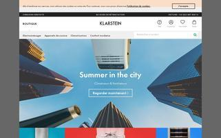 klarstein.fr Webseiten Screenshot