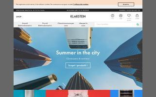 klarstein.it Webseiten Screenshot