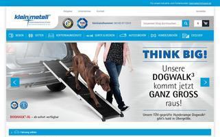 kleinmetall.de Webseiten Screenshot