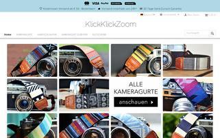 Klick Klick Zoom Webseiten Screenshot