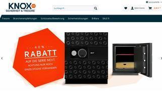 knoxsafe.de Webseiten Screenshot