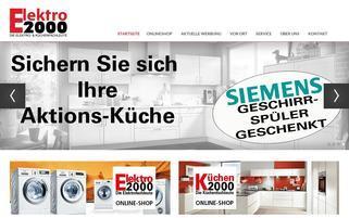 Kochen-Rundum Webseiten Screenshot